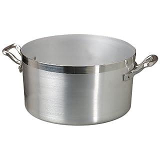 Agnelli Family Casserole Dish with 2 Handles Diameter 24 cm Aluminium Light Silver
