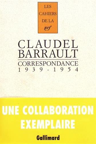 Correspondance: (1939-1954) par Paul Claudel