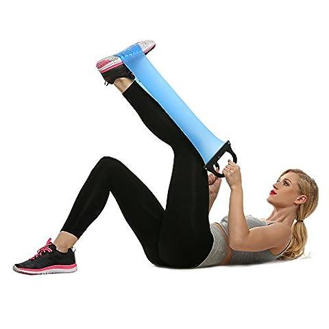 Groten 2Pcs Stretchaband Fitnessbänder Trainingsbänder Übungsband Widerstand Krafttraining Bänd mit Griff für Training und Heilung Pilates und Yoga 78cm