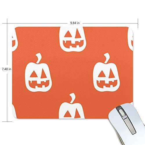 Basics Gaming Mauspad Halloween Kürbis Orange Hintergrund Mauspad Gaming Mauspad Computer Tastatur Mauspad 23,84 x 7,84 x 0,2 in