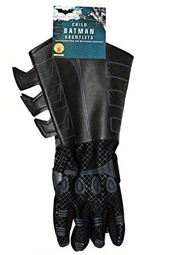 ht Rises Handschuhe Kinder Kostüm Zubehör Stoff / Lederimitat (Batman Dark Knight Kostüm Kinder)