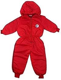 garçons bébé Swallow Motif à capuche Combinaison de neige Combinaison De Ski combinaison Manteau tailles à partir de 6 à 18 Mois