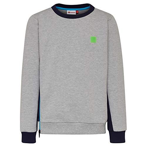 Lego Wear Jungen Lego Boy SIAM 322-SWEATSHIRT Sweatshirt, Grau (Grey Melange 912), (Herstellergröße: 152)