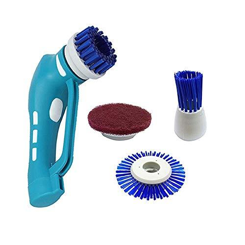 ZYJ Elektrisches Reinigungswerkzeug, Handheld-Reiniger Schnurloser Wäscher Elektrische Reinigungsbürste für Wäscher Küche Bad Ölfleck -