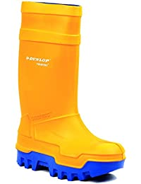 Dunlop C662343 Mens Purofort Thermo Full Safety Wellingtons Boots PU Slip On