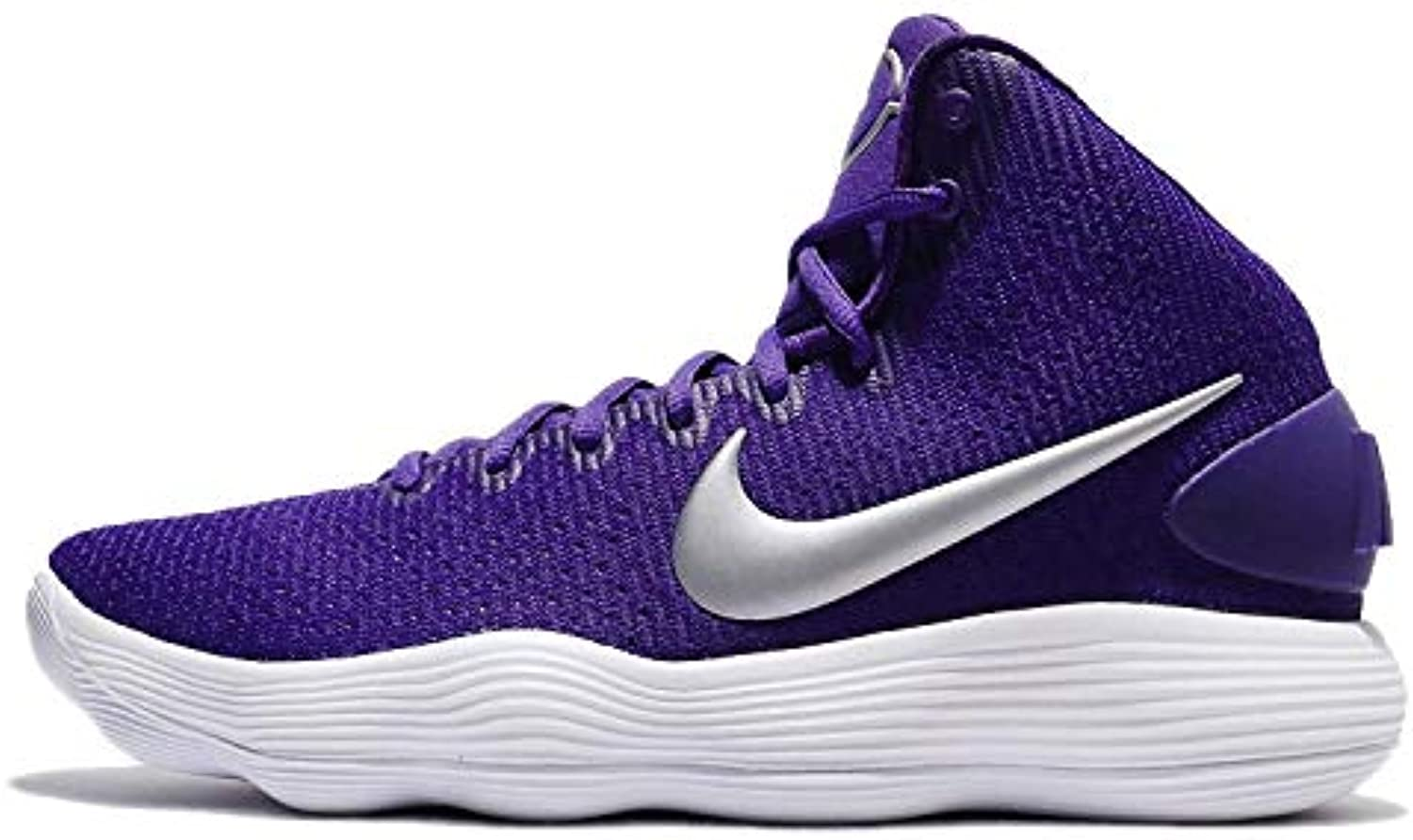 new arrival db189 c913f Nike Men s   Men s Hyperdunk 2017 TB Basketball Shoe Court   Purple Metallic  Silver White Size 13 M US   Outlet Store Online   Maschio Ragazze Scarpa ...