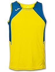 Joma - Camiseta record amarillo-royal s/m para hombre