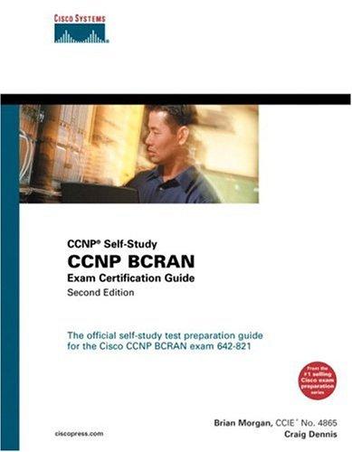 CCNP Bcran Exam Certification Guide (CCNP Self-Study, 642-821)