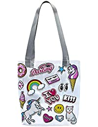 7c2cc822231 Soul Creation Dream Like Unicorn Transparent Handbag Tote Bag (l Love  Unicorn)