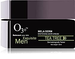 O3+ Men Tea Tree Mela Derm Whitening 24 hr Cream (50 ml)