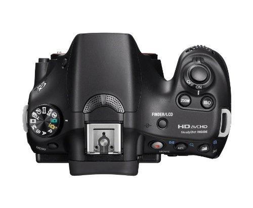Sony Alpha A58K 20.1MP Digital SLR Camera with 18-55mm Lens (SLT-A58K)