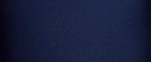 Satinband Double Face 100 mm dunkel blau -