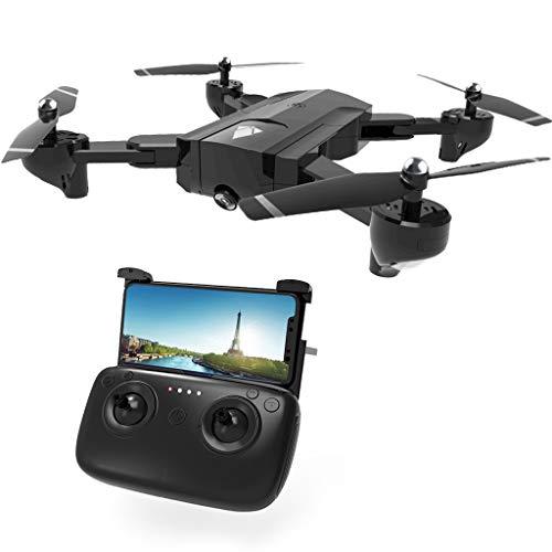 wenjuersty SG900 RC Drohne mit 4K Kamera FPV WiFi optischer Fluss RC Quadcopter Hubschrauber Auto Return Video Flugzeug Schwarz
