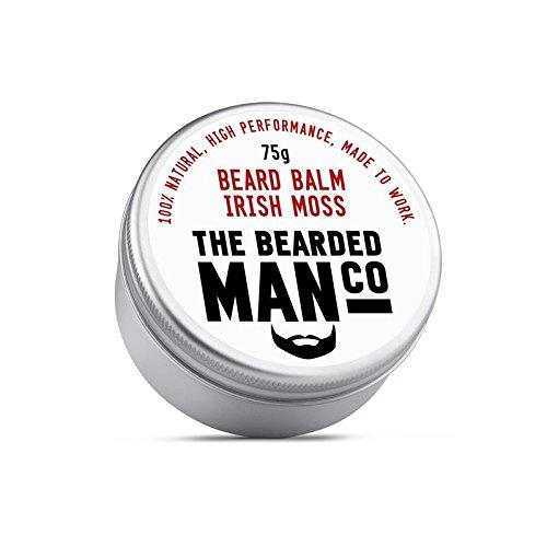 The Bearded Man Beard Balm 75g Irish Moss