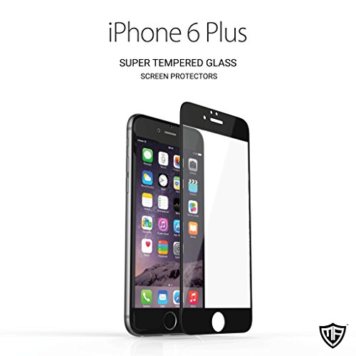 "Moarmouz Tempered Glass Screen Protector For Iphone 6 Plus (5.5"") Screen Guard, Screen Protector Black Mobiles & Tablets"