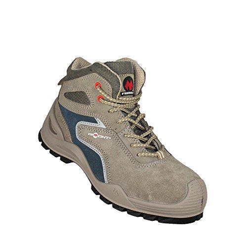 Aimont maximus s1P chaussures de travail chaussures chaussures berufsschuhe businessschuhe haut gris Gris