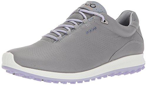 Ecco Damen Women's Golf Biom Hybrid 2 Golfschuhe, Grau (Wild Dove/Crocus), 41 EU