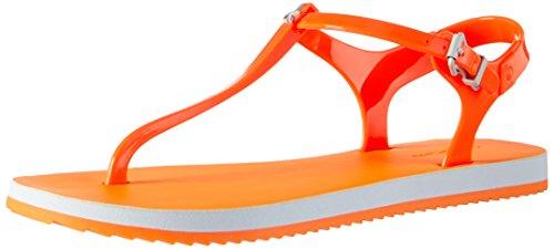 Calvin Klein JeansSavanna Jelly - Sandali infradito Donna , Arancione (Orange (Ogf)), 39