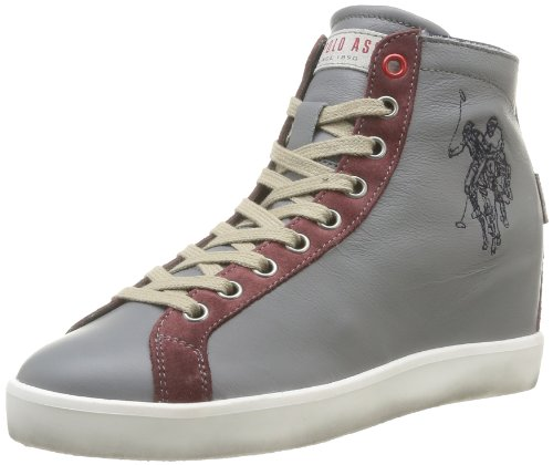 US Polo Assn  Festa,  Scarpe stringate donna Grigio (Gris (Grey/White))
