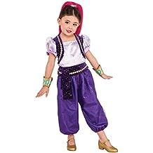 Shimmer & Shine - Disfraz infantil Deluxe, S (Rubie's Spain 620792-S)