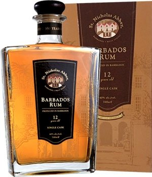 St. Nicholas Abbey 12 Jahre Single Cask No. 20 Barbados Rum 0,7 L