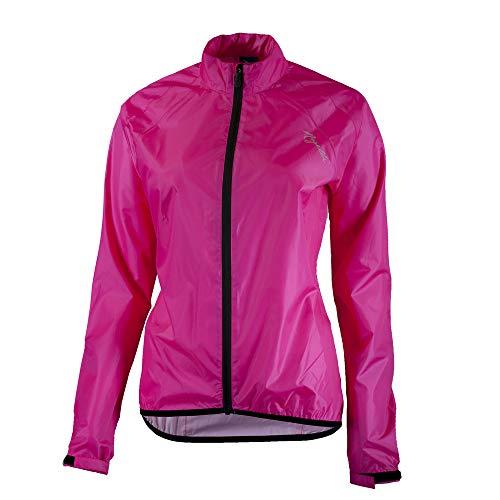 Rogelli TELLICO Damen Fahrrad Regenjacke zum Radfahren wasserdicht, Winddicht & atmungsaktiv Fahrradjacke