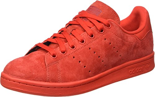 Adidas Stan Smith Scarpe Low-Top, Unisex adulto Rosso (Red/Red/Powred)