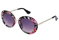 YORA Voilet Round Women Sunglasses