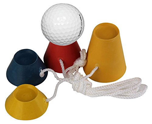 SaySure - Golf Rubber Tees Winter Tee Set 33mm Golf Training Kits