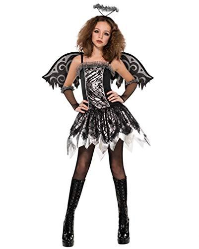 Horror-Shop Black Gothic Angel Kostüm