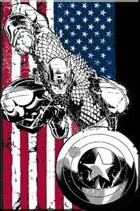 AiFemmet – Marvel – – – Captain America sous licence Drapeau Gifts Jouets m-mx-0001 | Pour Gagner L'éloge Chaleureux Auprès De Ses Clients  c1430e