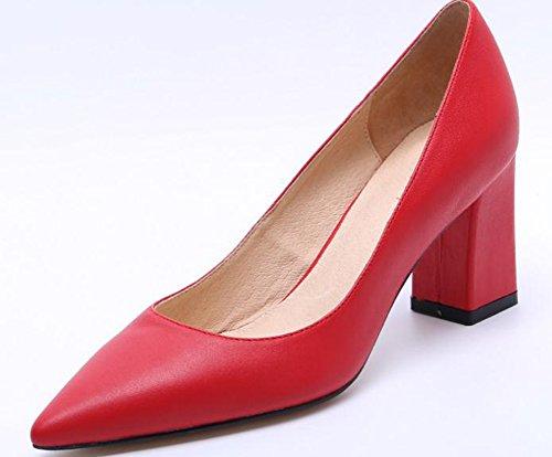 """YTTY Flache Schuhe. """" Rot"""