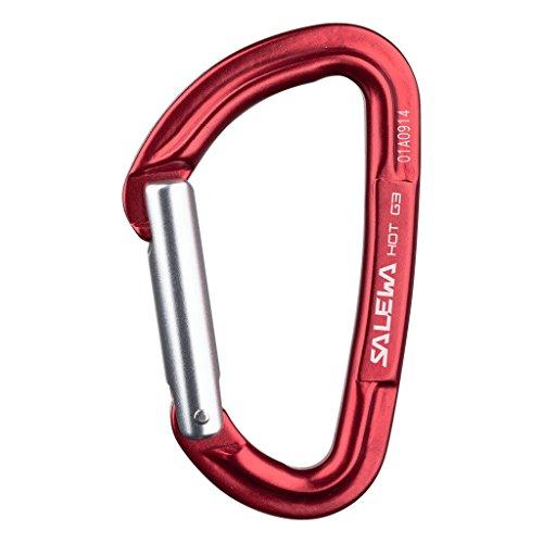 Salewa Unisex Karabiner Hot G3 Straight, Red, One Size, 00-0000001721