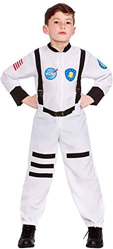 Boys Moon Mission Astronaut Fancy Dress Up Party Costume Halloween Child Outfit (Dress Kids Outfits Up)