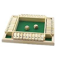 Ogquaton-4-Spieler-Digital-Puzzle-Brettspiel-Shut-The-Box-Spiel-Set-Anzahl-Trinkspiele-Fr-FreundeFamilie-Hohe-Qualitt