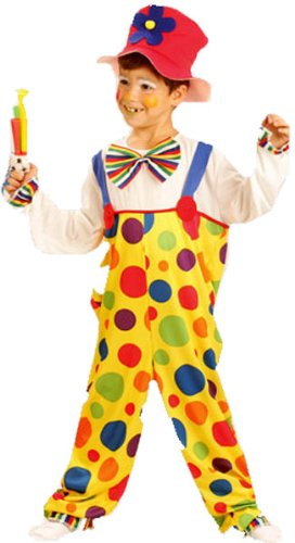 Henbrandt - Kinder Clown Kostüm Party Kostüm (Clown Outfits Für Kinder)