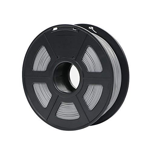 Filamento per stampa 3d, filamento in pla fayella 1,75 mm in plastica per stampante 3d 1 kg/rotolo 28 colori materiali di consumo in gomma opzionali per stampa, argento