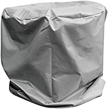 Gazechimp Cubierta de Barbacoa de Caldera Protección UV Rayos Protector de 76 * 71cm de Gris