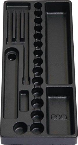 Rodac SAM-MOD-16 Leeres Modul für Steckschlüsseleinsätze und Zubehör 3/8
