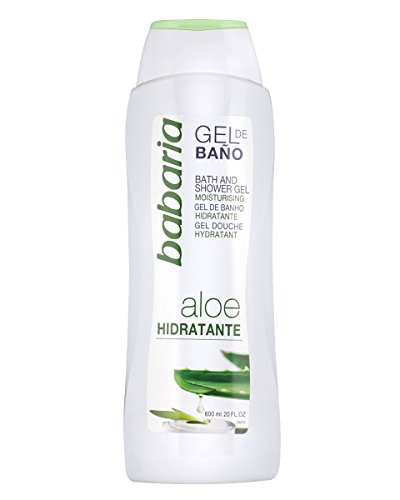 Babaria Aloe Vera Gel Baño Hidratante 600 ml 600