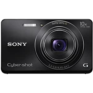 Sony Cyber-shot DSC-W690 16.1MP Point-and-Shoot Digital Camera (Black) with Camera Case