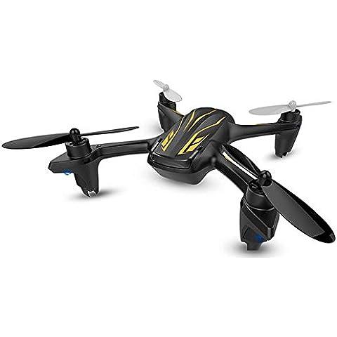 Tomlov Hubsan X4 Camera Plus H107P elicottero 2.4G 4CH RC Quadcopter Drone fotocamera RTF HD con i segnalibri farfalla (Nero Hubsan X4 Plus H107P)
