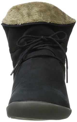 Softinos - Nup410sof Nubuck, Stivali Donna blu (navy)
