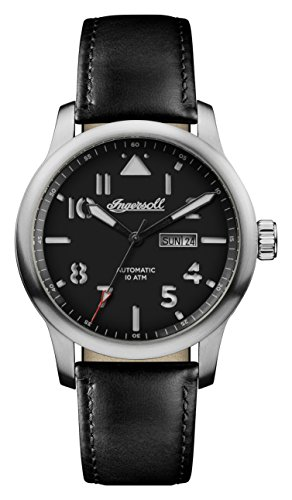 Ingersoll Mens Analogue Classic Automatic Watch with Leather Strap I01303