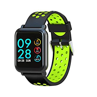 Leotec LESW14DG Multisport Helse-Smartwatch, Color Verde