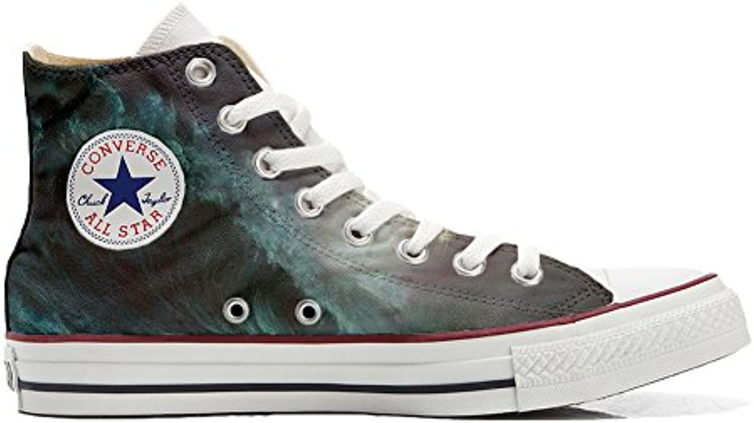 Converse All Star Zapatos Personalizados Unisex (Producto Handmade) Flowery Paisley -