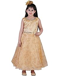 86cd6fce9194 Amazon.in: Golds - Dresses & Jumpsuits / Girls: Clothing & Accessories