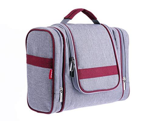 JOFRI Kulturtasche zum Aufhängen für Damen und Herren | Kulturbeutel | Reisetasche | Waschbeutel | Reisenecessaire