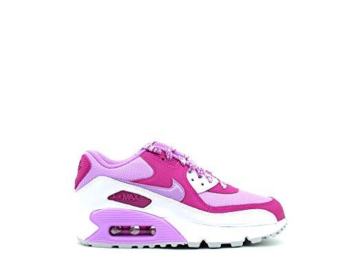 Nike Air Max 90mesh (GS), sneakers per bambine e ragazze, (fuschia glow fuschia flash 500), 36 EU
