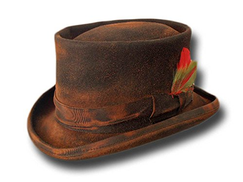cappello-a-cilindro-western-desert-rat-extra-quality-dusty-nero